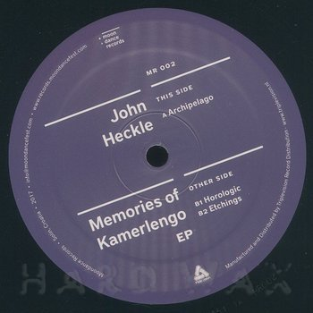 Cover art - John Heckle: Memories Of Kamerlengo