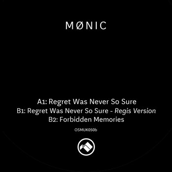 Cover art - Mønic: Regret Was Never So Sure