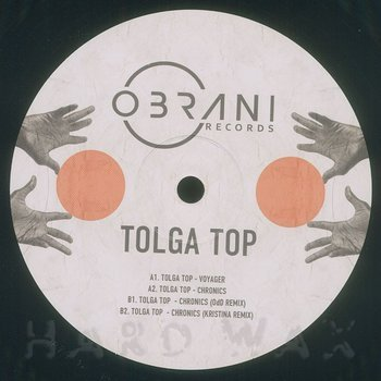 Cover art - Tolga Top: Voyager