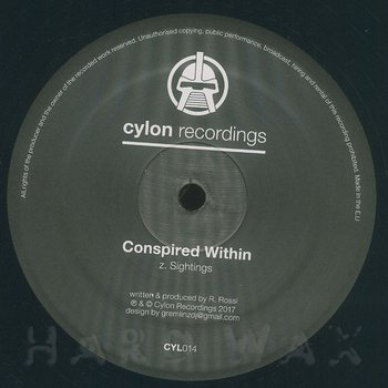 Cover art - Conspired Within: Artifact