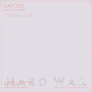 Cover art - Kapoor: Face Your Fears