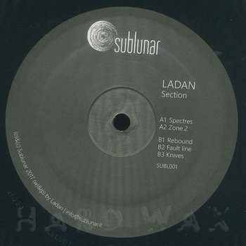 Cover art - Ladan: Section