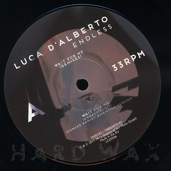 Cover art - Luca D'Alberto: Wait For Me