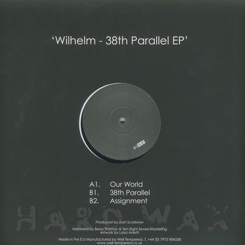 Cover art - Wilhelm: 38th Parallel