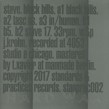 Cover art - Stave: Black Hills
