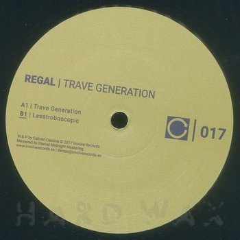 Cover art - Regal: Trave Generation