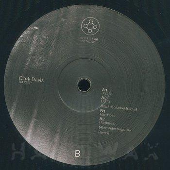 Cover art - Clark Davis: D313