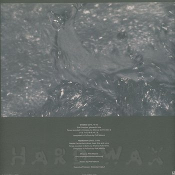 Cover art - Phill Niblock: Rhymes With Water