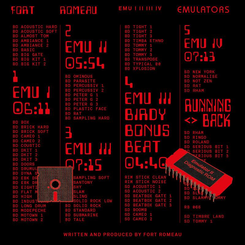 Cover art - Fort Romeau: Emulators