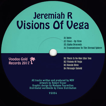 Cover art - Jeremiah R.: Visions of Vega