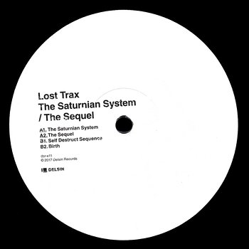 Cover art - Lost Trax: The Saturnian System