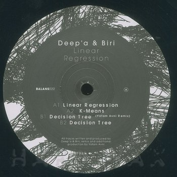 Cover art - Deep'a & Biri: Linear Regression