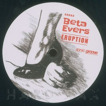Cover art - Beta Evers: Eruption