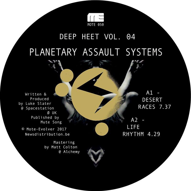 Cover art - Planetary Assault Systems: Deep Heet Vol. 4