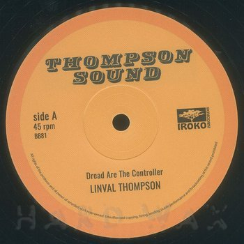Cover art - Linval Thompson: Dread Are The Controller