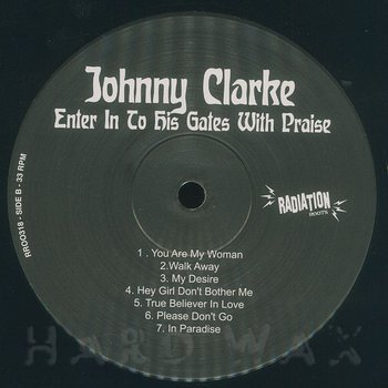 Cover art - Johnny Clarke: Enter In To His Gates With Praise