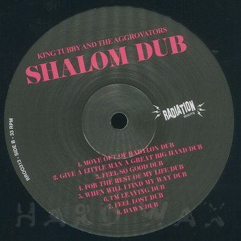 Cover art - King Tubby & The Aggrovators: Shalom Dub
