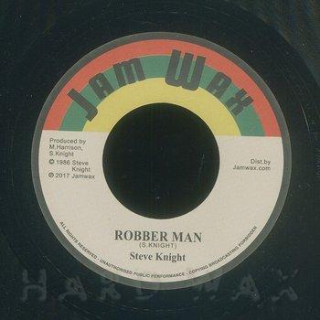 Cover art - Steve Knight: Robber Man