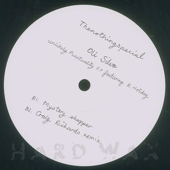 Cover art - Oli Silva: Unlikely Punctuality EP