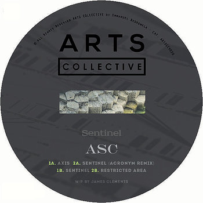 Cover art - ASC: Sentinel