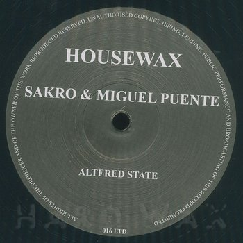 Cover art - Sakro & Miguel Puente: Altered State