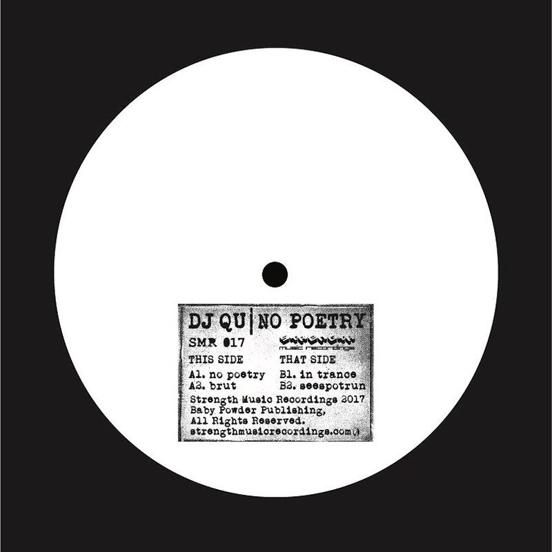 Cover art - DJ Qu: No Poetry