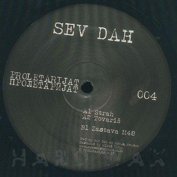 Cover art - Sev Dah: Strah