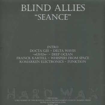 Cover art - Various Artists: Seance