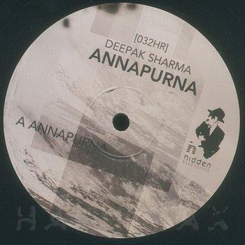 Cover art - Deepak Sharma: Annapurna
