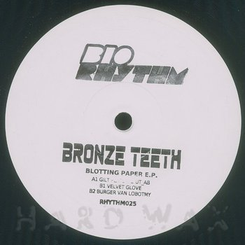 Cover art - Bronze Teeth: Blotting Paper