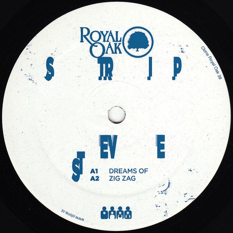 Cover art - Strip Steve: Shy Funk
