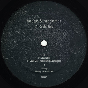 Cover art - Hodge & Randomer: If I Could Stop