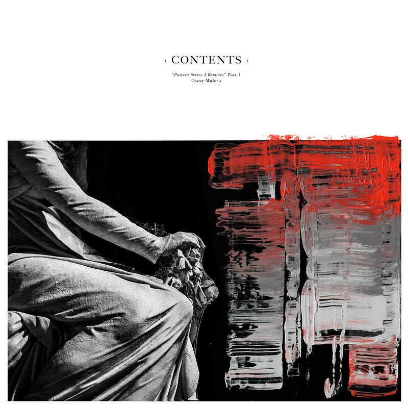 Cover art - Oscar Mulero: Pattern Series 4 Remixes Part 1