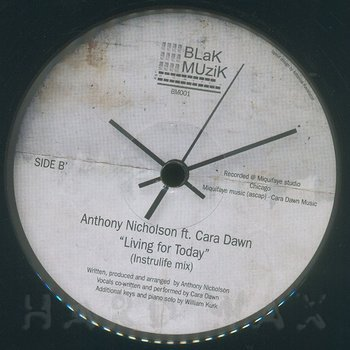 Cover art - Anthony Nicolson : Living For Today