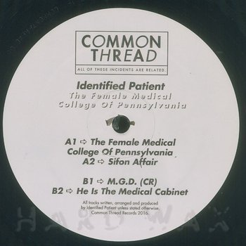Cover art - Identified Patient: The Female Medical College Of Pennsylvania