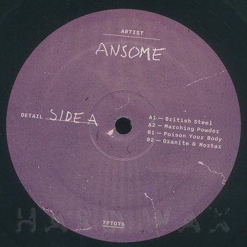 Cover art - Ansome: British Steel