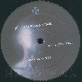 Cover art - Jeff Mills: Lost In Space