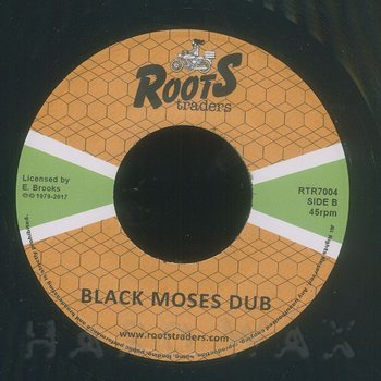 Cover art - Jah Lloyd: Black Moses