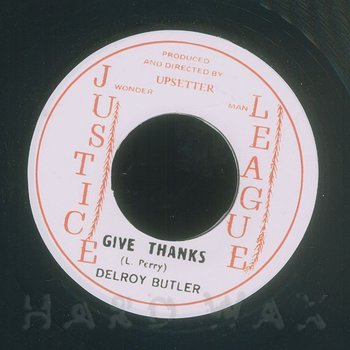 Cover art - Delroy Butler: Give Thanks