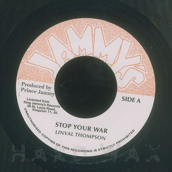 Cover art - Linval Thompson: Stop Your War