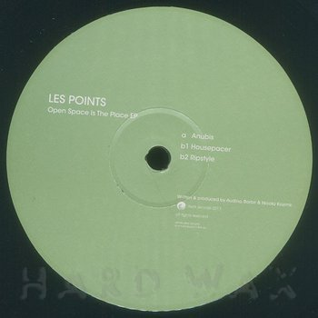 Cover art - Les Points: Open Space Is The Place EP