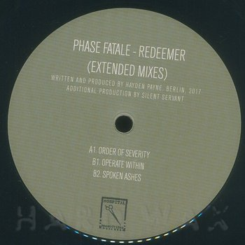Cover art - Phase Fatale: Redeemer (Extended Mixes)