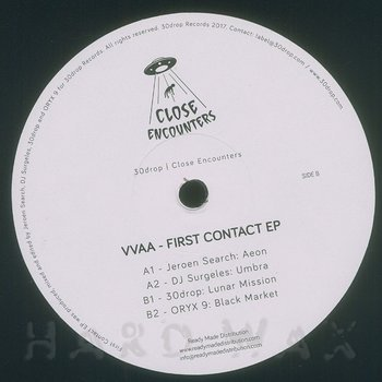 Cover art - Various Artists: First Contact