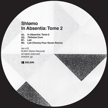 Cover art - Shlømo: In Absentia - Tome 2