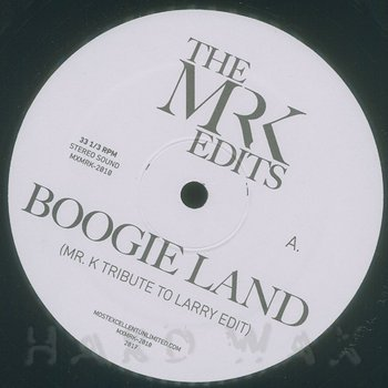 Cover art - The Mr. K Edits: Boogie Land