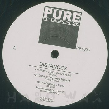 Cover art - Ron Albrecht / Fiedel: Distances