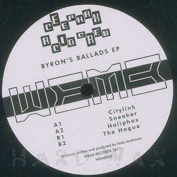Cover art - Ceephax Acid Crew: Byron's Ballads