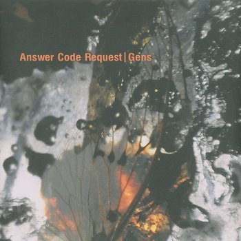 Cover art - Answer Code Request: Gens