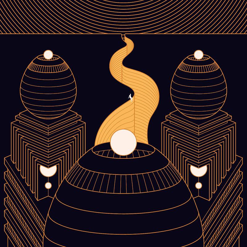 Cover art - Ruhig: Sleeping Oracle EP