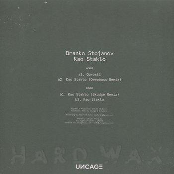Cover art - Branko Stojanov: Kao Staklo